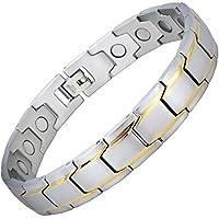 Herren Bio Magnetisches Armband für Schmerzlinderung Alle Größen Magnettherapie Armband Heilung Armband Arthritis... preisvergleich bei billige-tabletten.eu