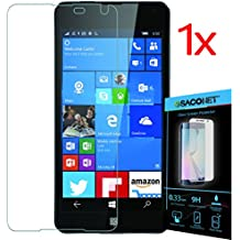 Lumia 650 1x pellicola vetro temperato display per smartphone Microsoft Nokia Lumia 650 + kit pulizia schermo