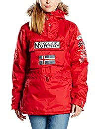 Geographical Norway Chaqueta Building Rojo S (FR 36/38)