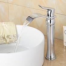 Grifos para lavabo sobre encimera - Rubinetti bagno amazon ...
