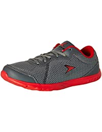Power Men's Edge Inb314 Grey and Silver Running Shoes - 6 UK/India (40 EU) (8082540)