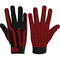 Optimum Rugby Sports Hand Protection Mitts Full Finger Velocity Thermal Gloves