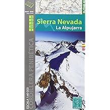 SIERRA NEVADA - LA ALPUJARRA  1/40.000