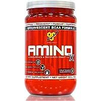BSN Amino X 435 g Punch Alla Frutta Aminoacido Polvere per Riparatore & Crescita Muscolare