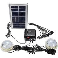 DyNamic Sistema portátil del generador solar del generador del panel solar para acampar casero con las