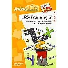 miniLÜK: LRS - Training 2: Rechtschreib- und Leseübungen für Grundschulkinder