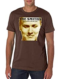 Morrissey and The Smiths Smiths Album Strangeways Here We Come Men's Fashion Quality Heavyweight T-Shirt.