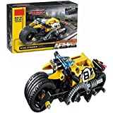 Wishkey Stunt Bike Pullback Technic Car 140 Pcs Building Block Set