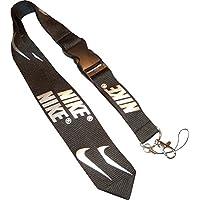 Nike Swoosh Lanyard Keyband. Schlüsselband. Keychain. Neck Holder. iStrap. Solider Karabiner Haken. Strapazierfähig. 100% Nylon. Maße 53 x 2,5 cm