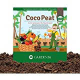 Ugaoo Cocopeat Brick 5 Kg Block for Gardening & Plants, Expands into Coco Peat Powder