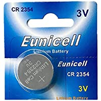 Eunicell Branded 3 V Lithium Coin Cell Guy: CR2354 without Groove Depth
