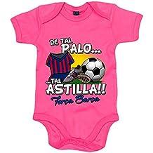 Body bebé De tal palo tal astilla Barcelona fútbol