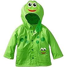 Highdas Baby Kids Rana y Beetle Windproof Rainsuit niños chaqueta con capucha 90-130