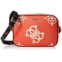 GUESS Womens Handbag, Orange/Multicolour - SO669112