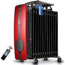 WANGTAO Radiador Lleno De Aceite 2500 W Calefacción Silenciosa, Eficiente Protección Múltiple Calentamiento Caja De