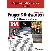 P.M. Fragen und Antworten - Tagesabreißkalender, Wissen, Unterhaltung, Fakten  -  11,8 x 15,9 cm