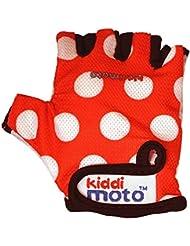 Kiddimoto - Protección contra caídas (Gloves 12_rot-weiß-2-5 years)