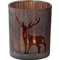 Windlicht Pieter H8 D7cm Glas lackiert