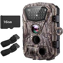 Boblov Cámara de Caza Vigilancia 18MP HD 1080P Impermeable Trail Cámara H883 con 2.4