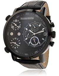 Boudier & Cie Herren-Armbanduhr XL Cosmos -  Automatic Collection Analog Automatik Leder OZG1131