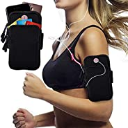 PLAY HARD Outdoor Sports Armband, Sweatproof Running Armbag Casual Arm Package Bag Gym Fitness Cell Phone Bag