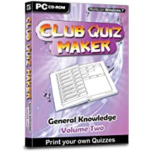 Club Quiz Maker - General Knowledge Volume 2