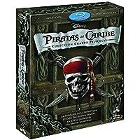 Duopack: Piratas Del Caribe 1-4 + Bonus Disc