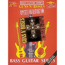 FABER MUSIC GUNS N' ROSES - APPETITE FOR DESTRUCTION - BASS TAB