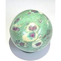 Schutz 179Gramm Rubin in Zoisit 49mm Kugel crystal Healing Reiki Feng Shui Home Office Geschenk Frieden Meditation... preisvergleich bei billige-tabletten.eu