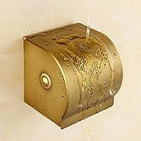 Il lusso moderno bagno moda porta-carta igienica wc portabobina accessori bagno,nuovo scolpiti tovagliolo di carta box - Nuovo Black Box