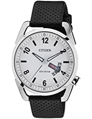 Citizen Herren-Armbanduhr Analog Quarz Leder AW0010-01AE