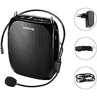 Zoweetek® Amplificador portatil (10W) con 1800 mAh batería de litio con un microfono para guías maestros profesores artistas animadores promotores de ventas ,etc