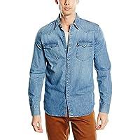 Levi's Barstow Western Camicia Casual, Uomo, Manica