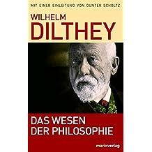 Das Wesen der Philosophie