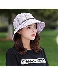 1c32623e7fcce YANGFEIFEI-MZ Regalo para mamá Regalo para la Abuela Ladies  Hat en  Primavera Verano Outdoor Folding Gorra Sombrero de…
