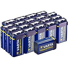 Varta Industrial - Pack de pilas (9 V-Block, 20 unidades)