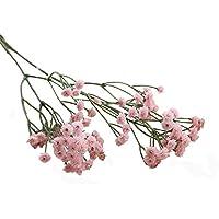 Sanysis - Gypsophila de flores artificiales hortensias (Rosa)