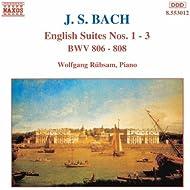 Bach, J.S.: English Suites Nos. 1-3, Bwv 806-808