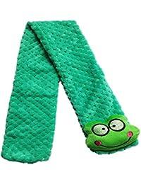 Khurana Cute Kids Scarf Stole Muffler Soft Furr for Girls (Green)