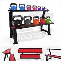 Preisvergleich für We R Sports 2 Tier Home Gym Kettlebell Weight Storage Display Stand Rack For Kettlebells