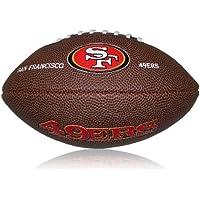 Wilson Football NFL 49ers Logo, Braun, Mini, WL0206224220