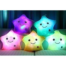 Rainbow Fox LED de luz blanca de felpa almohadilla del amortiguador de la almohadilla suave viaje