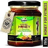 Zandu Pure Honey with Cinnamon, Green Tea and Lemon - 250 g