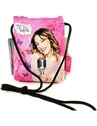 Pochette bandoulière ' Violetta' rose