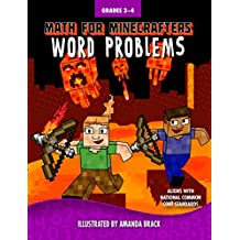 Math for Minecrafters: Word Problems: Grades 3-4