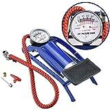 Shreeji Ethnic 2018 Portable High Air Pressure Heavy Compressor Foot Pump Air Pump Novel Style Air Foot Pump for Bike, Car, Bicycles