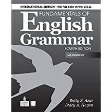 Fundamentals of English Grammar (International) SB w/AK