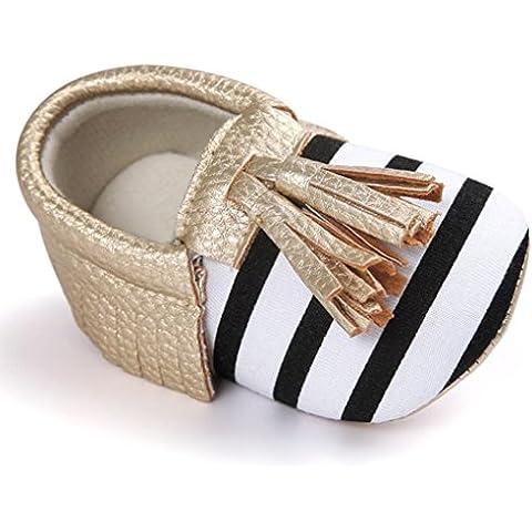 pattini del bambino, Kingko® Nappe Scarpe PU Baby scarpe di