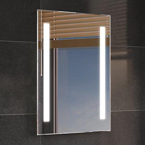 iBathUK 500 x 700 mm Modern Illuminated Backlit LED Bathroom Mirror Light ML2107