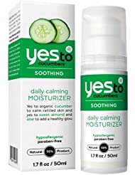 Yes to Cucumbers - Complete Care - Crème hydratante apaisante